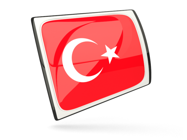 Turkey Flag Icons Png Download image #20407