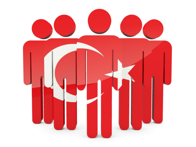 Turkey Flag Save Icon Format image #20409