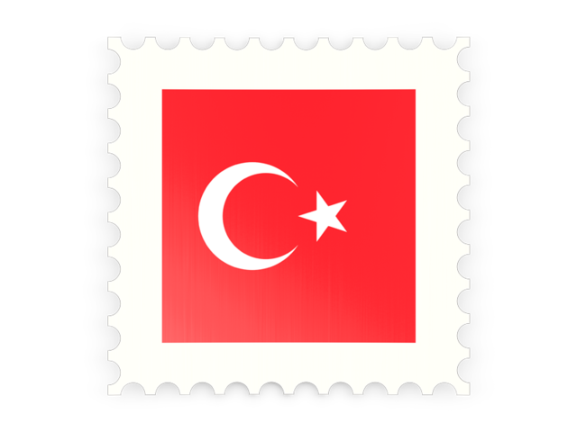 Vector Drawing Turkey Flag image #20410