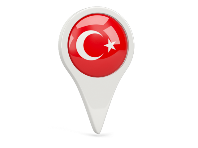 Turkey Flag Pin PNG HD image #45691