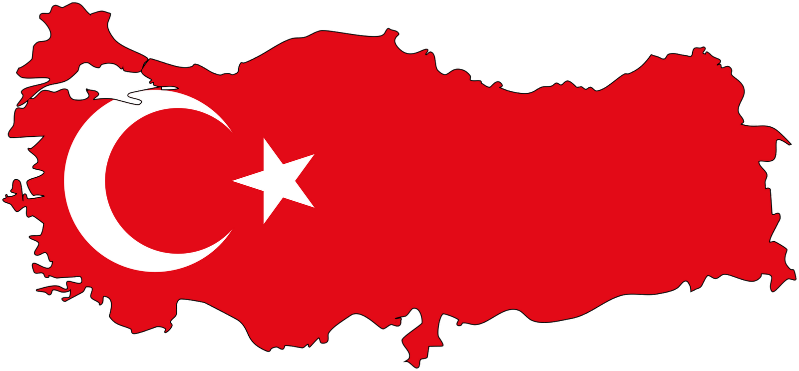 Turkey Flag PNG Pic