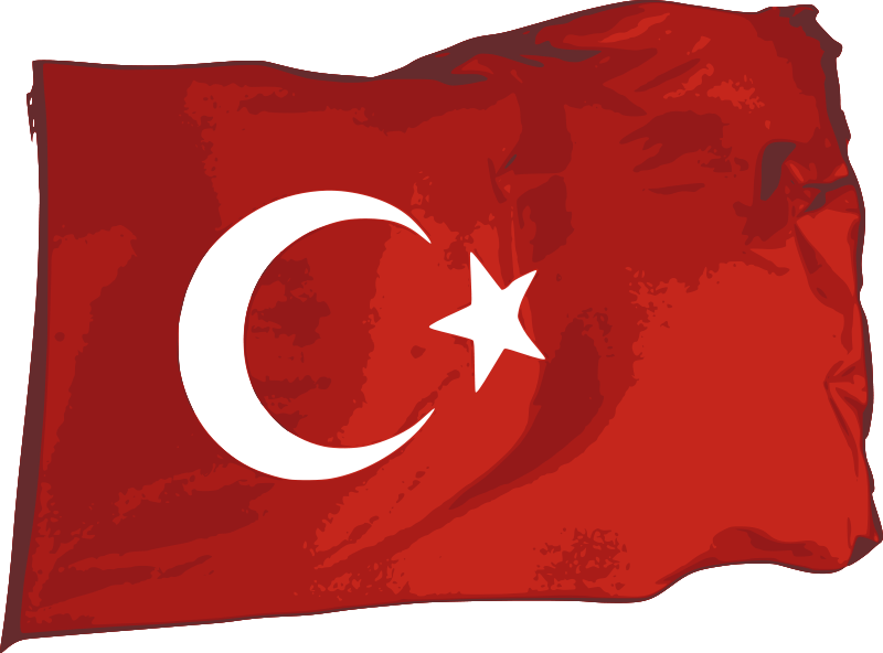 Turkey Flag Png Transparent Background image #45669