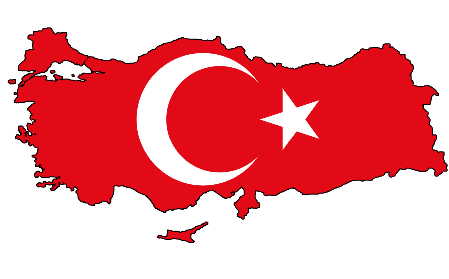 Turkish Flag PNG File image #45690