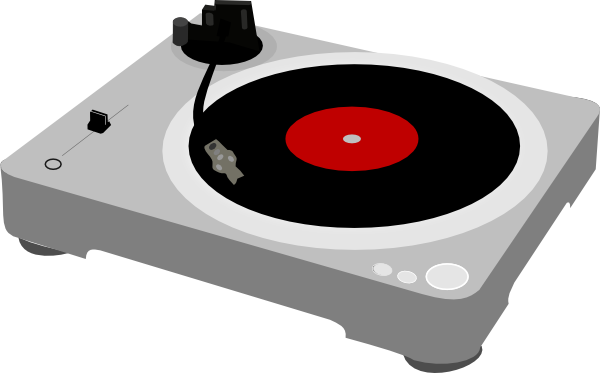 PNG Turntable Clipart image #28588