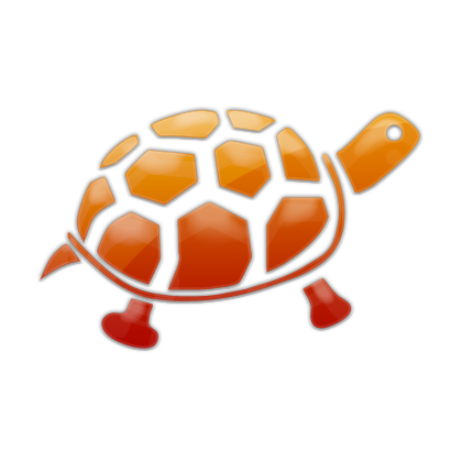 Drawing Turtle Vector