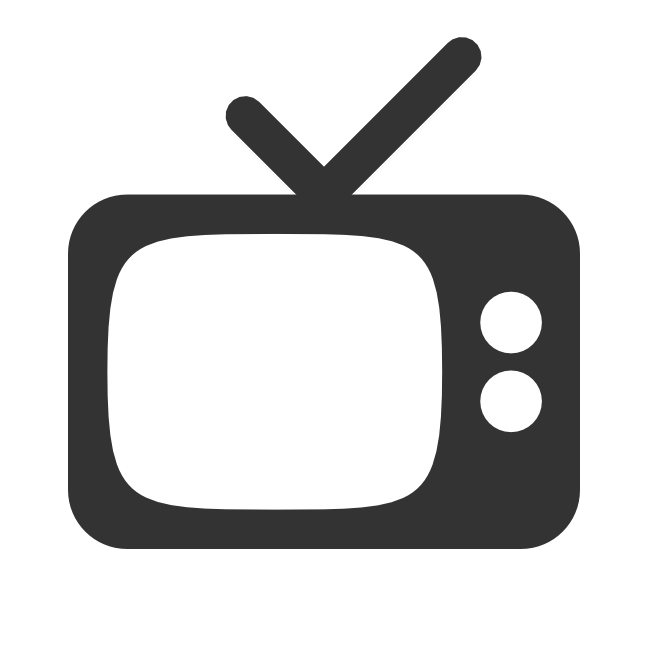 Vector Television Icon image #22209
