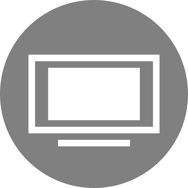 Icon Size Television