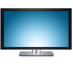 Icon Vector Television image #22204