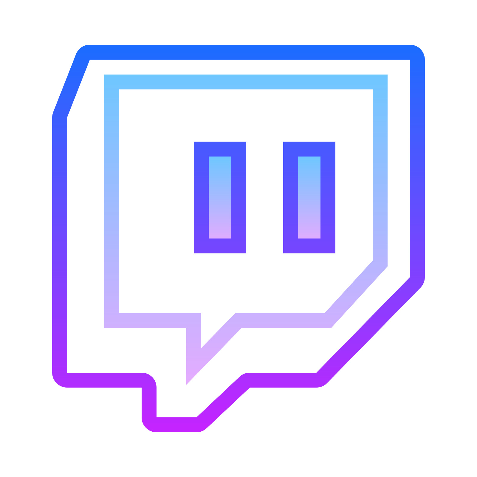 Twitch fortnite logo icon transparent