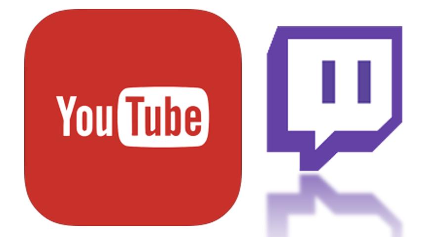twitch vs youtube icon