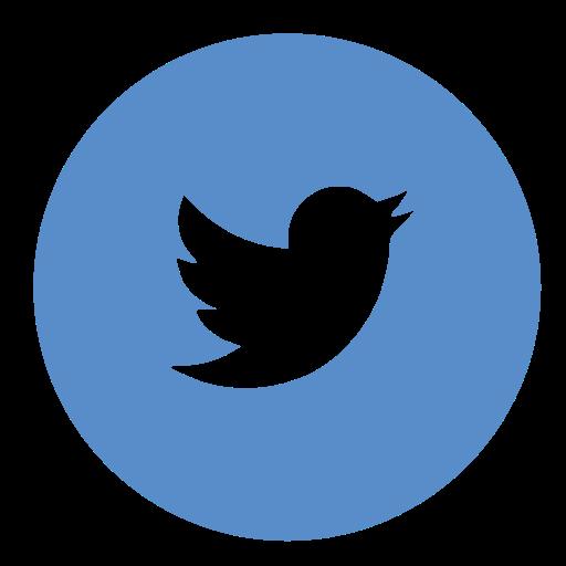 Twitter Circle Icon image #88