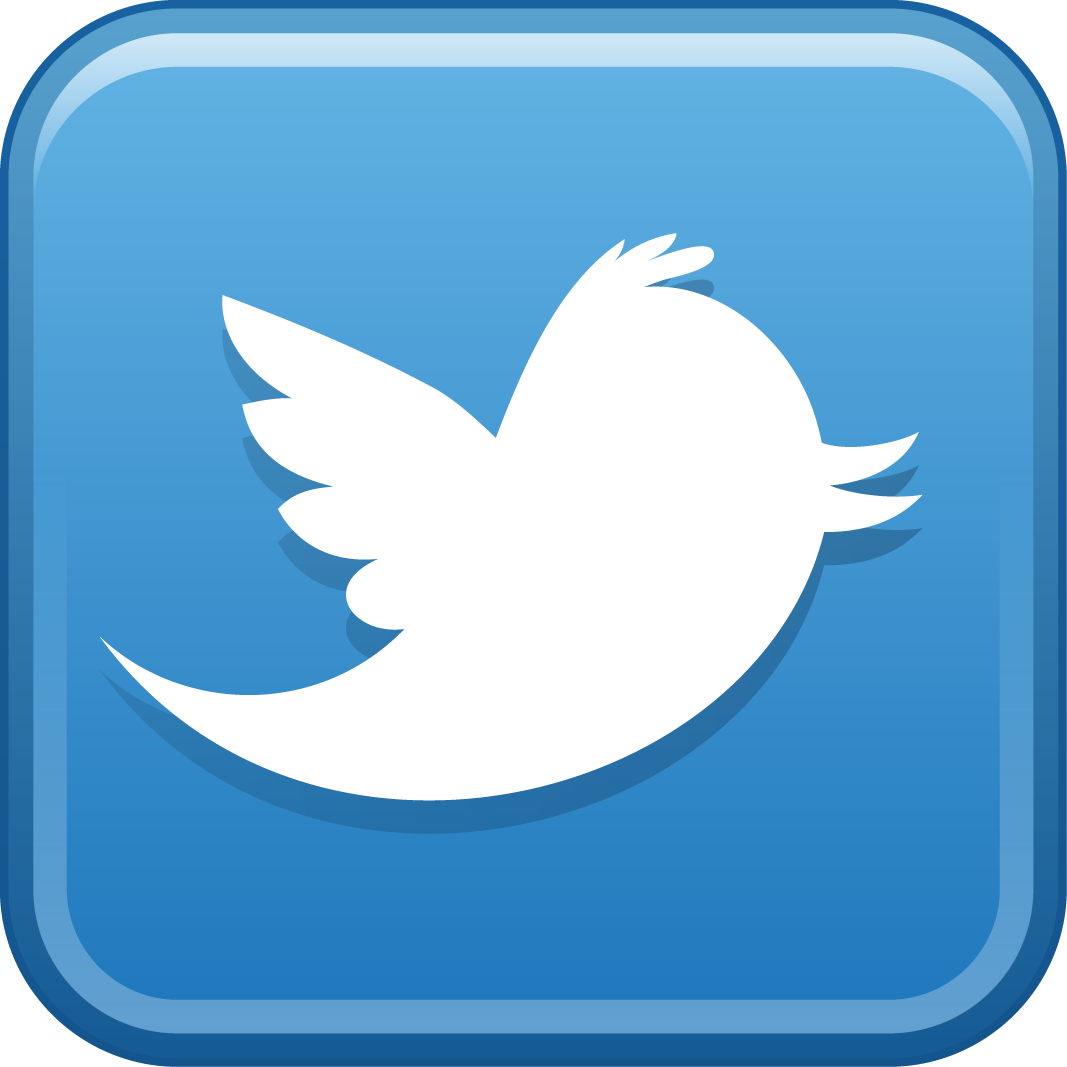 Twitter Square Logo Png Icon image #47454