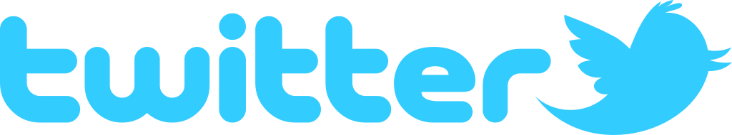Twitter Text Logo Transparent