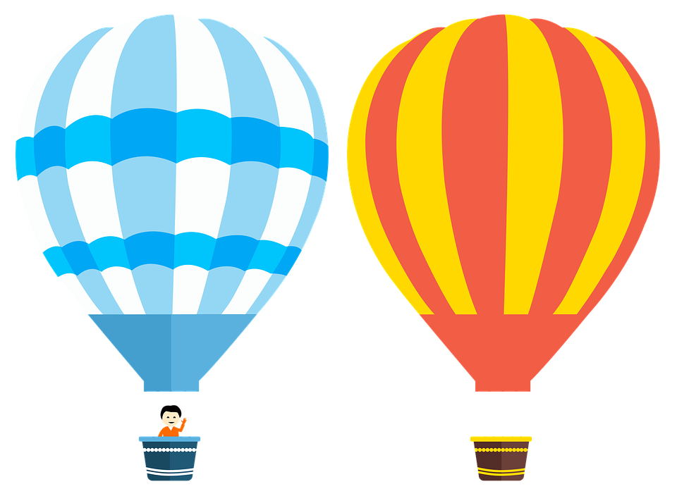 Two Air Balloon Png Clipart image #46778