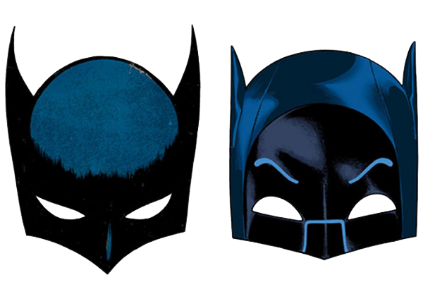 Two Batman Mask Png image #38918