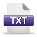 Txt File Icon — Coquette Part 5 Set: new text document, txt