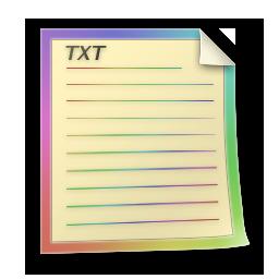TXT File Icon  Colorabo Icons  SoftIconsm