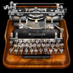 typewriter vintage icon png
