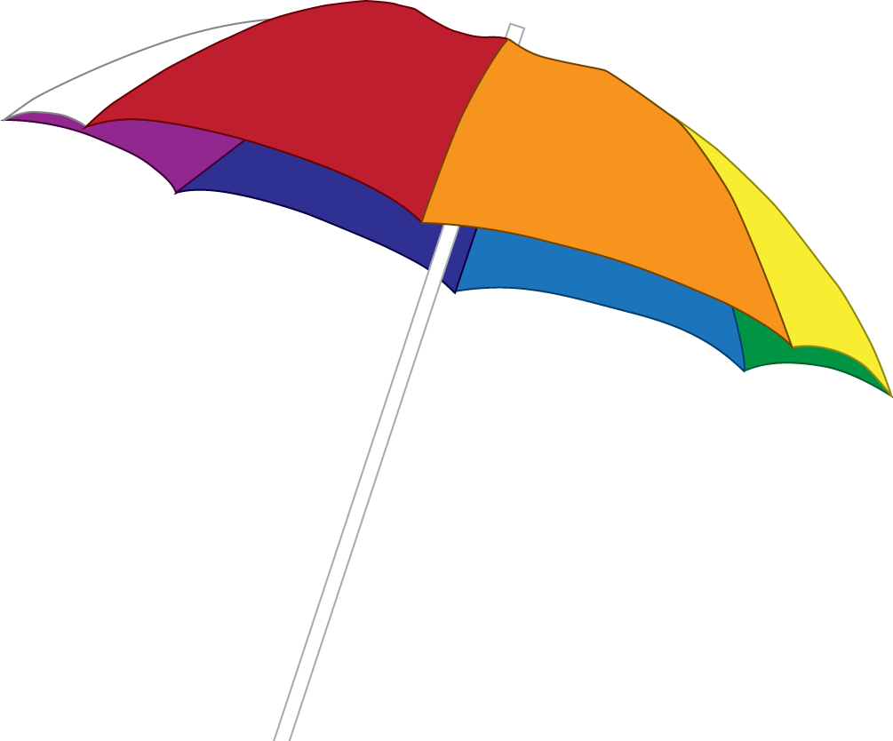Umbrella Beach Png image #41226