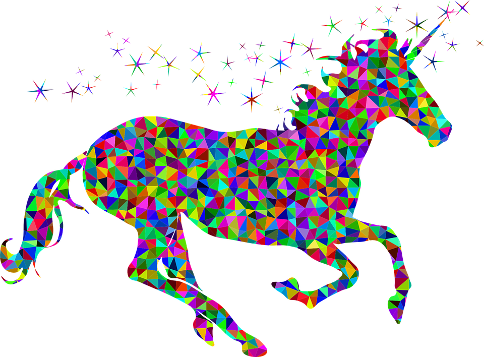 Unicorn, Horse Png Image image #44511