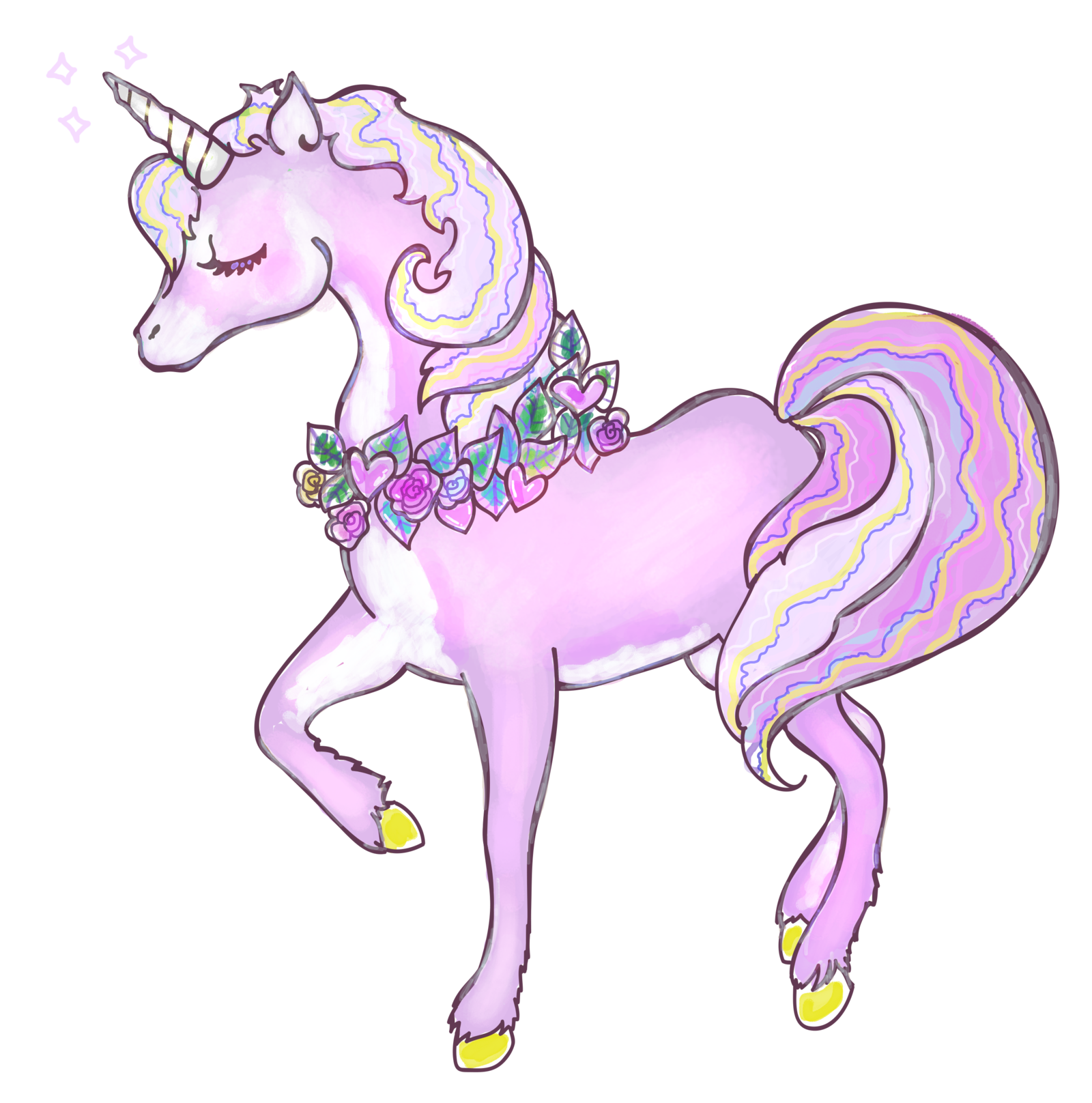 Unicorn PNG Clipart