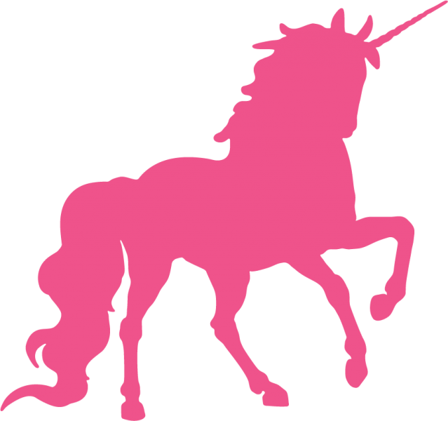 Unicorn Silhouette Clipart Png