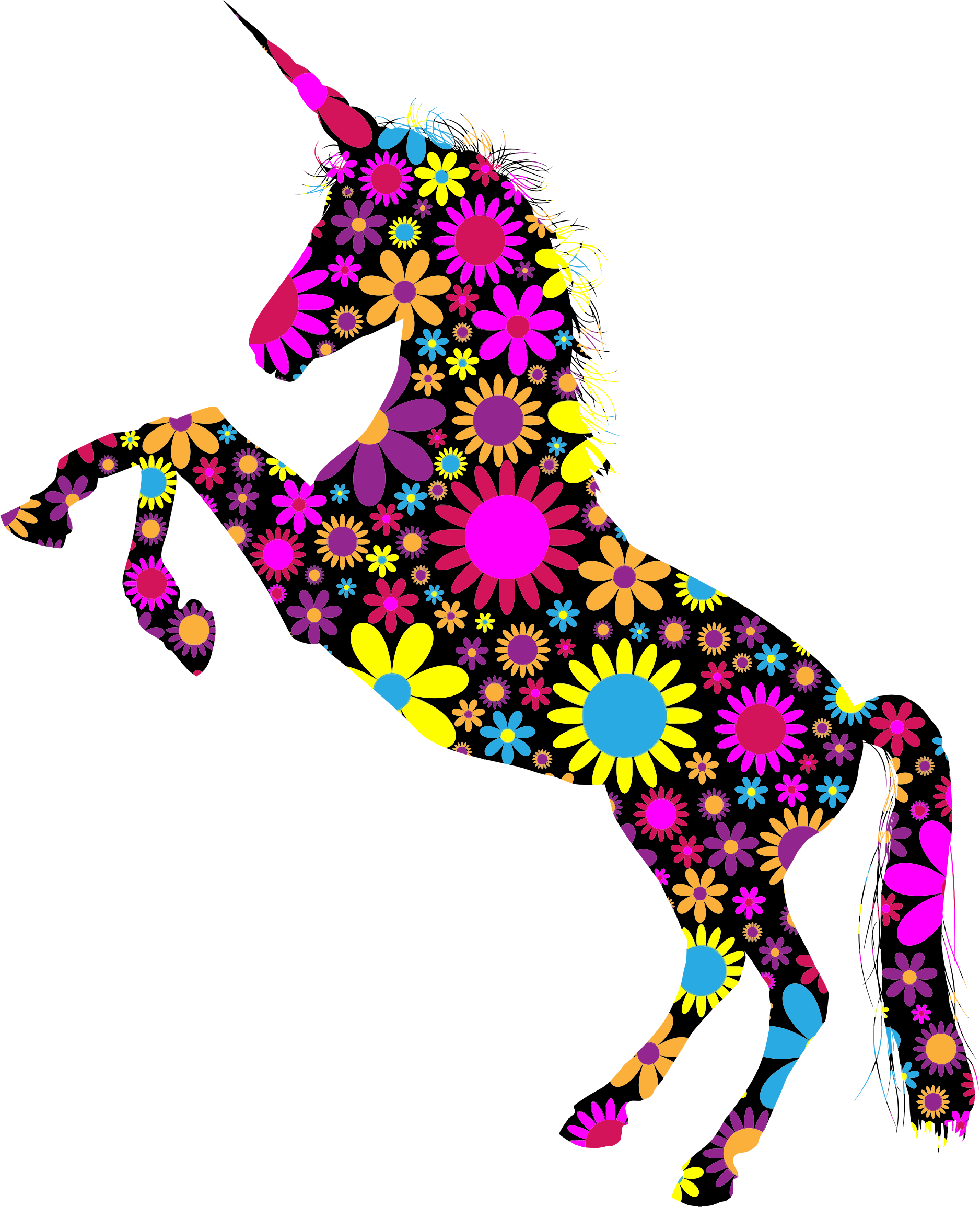 Unicorn Silhouette Png