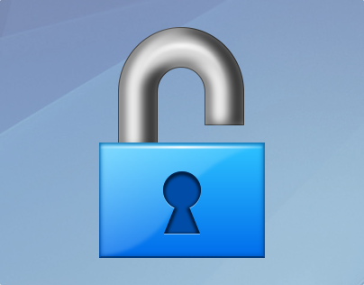 Vector Icon Unlock image #29110