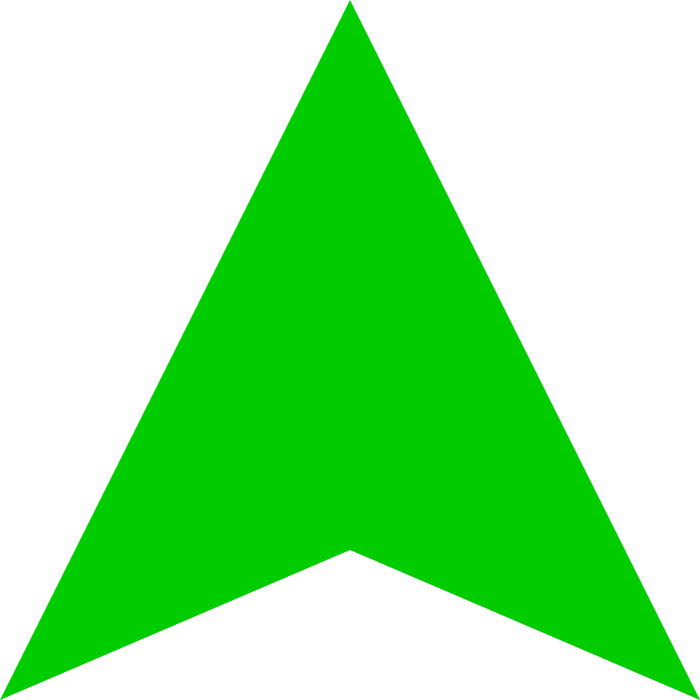 Transparent PNG Up Arrow image #27172