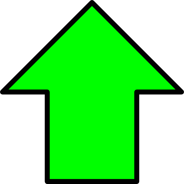 PNG Clipart Up Arrow
