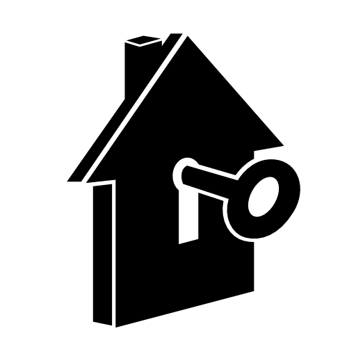 Up House Hands Holding Up House Keys Icon image #41552