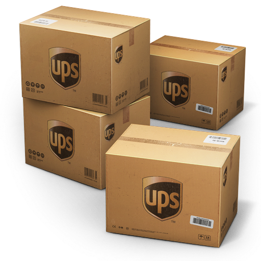 UPS Shipping Box Icon image #14273