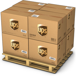 UPS Shipping Box Icon image #14274