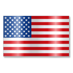 Icon American Us Flag Vector