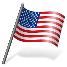 Windows American Us Flag Icons For