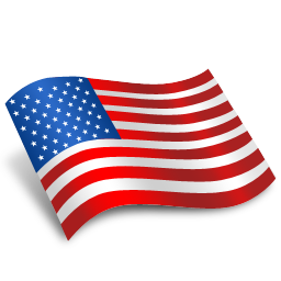 American Us Flag Svg Icon