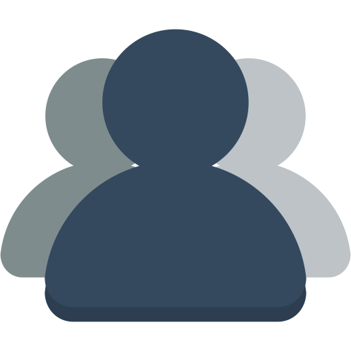 user group flat icon png