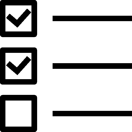 User Interface Checklist Icon | IOS 7 Iconset | Icons8 image #1428