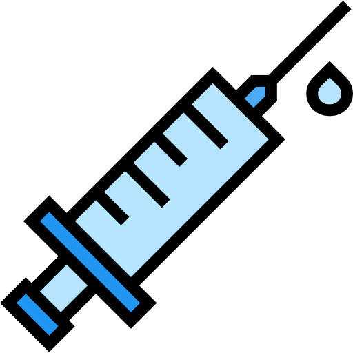 Vaccine syringes PNG Photo