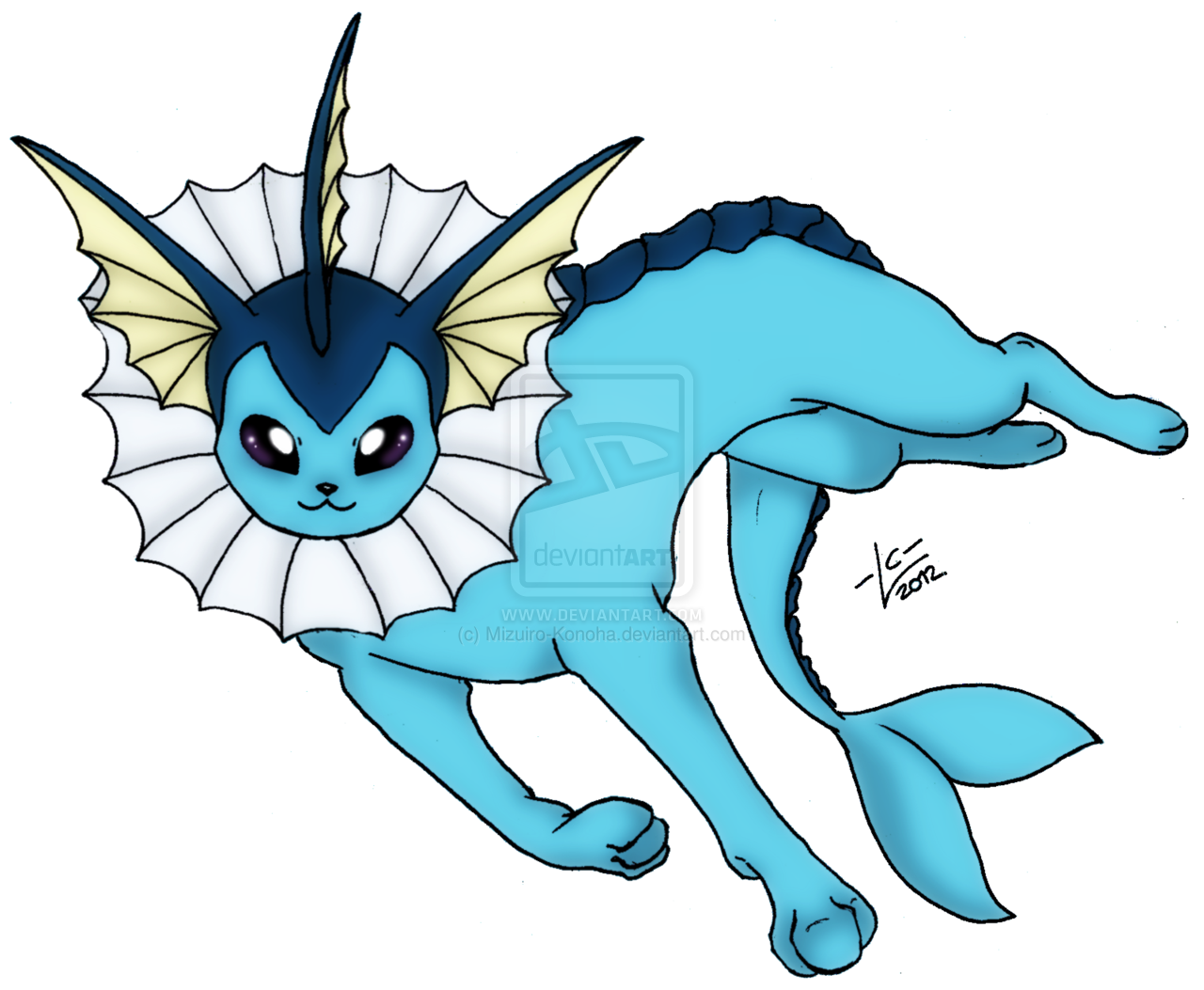 Transparent PNG Vaporeon