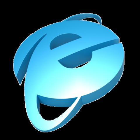Vaporwave internet explorer transparent png