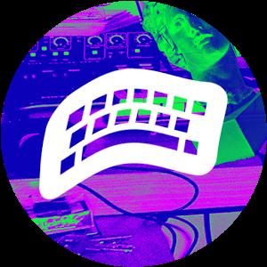VAPORWAVE Keyboard png