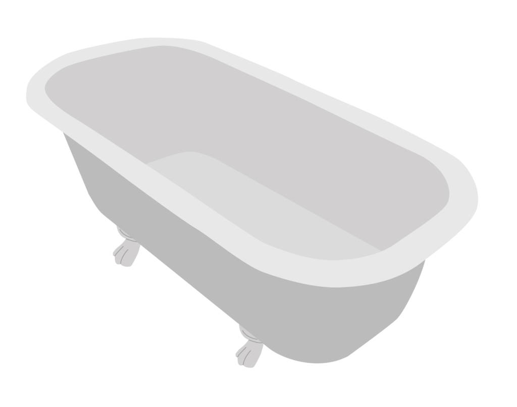 vector bathtub png