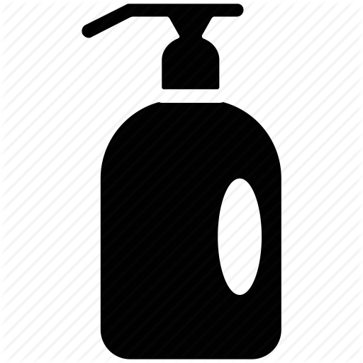 Vector Shampoo Icon Black image #42942