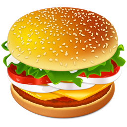 Very Fine Food Icon Png image #2950