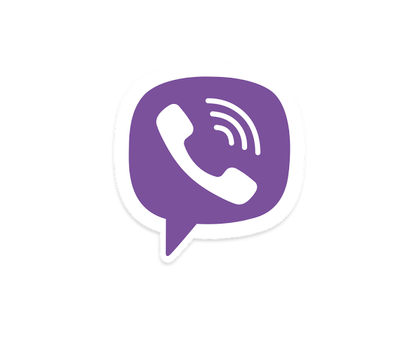 Viber Down In The Direction Of The Arrow Logo Transparent Pictures image #48161
