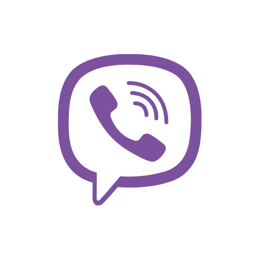 Viber Phone Logo And White Background Pictures image #48166