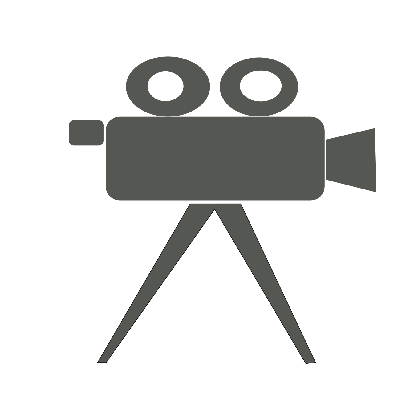 Vectors Video Camera On Tripod Download Icon Free image #39010