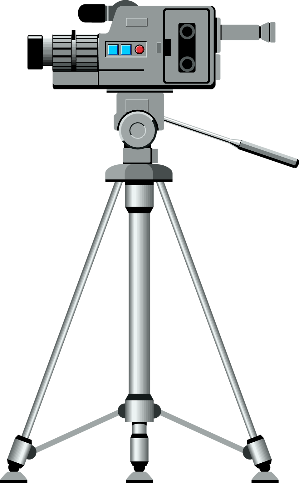 Free Download Of Video Camera On Tripod Icon Clipart image #39014