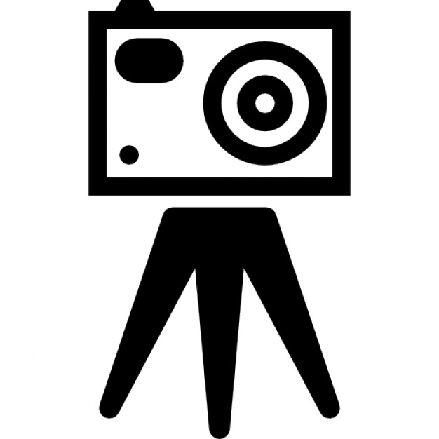 Video Camera Tripod Png Icon image #39022